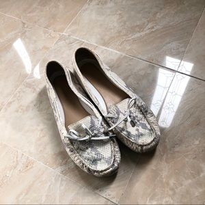 Michael Kors Snakeskin Loafers